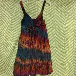 Women's Sundress Tie-dye BOHO COACHELLA HIPPY